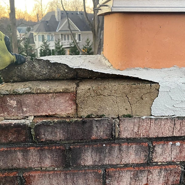 chimney crown repair and replacement Rockville MD