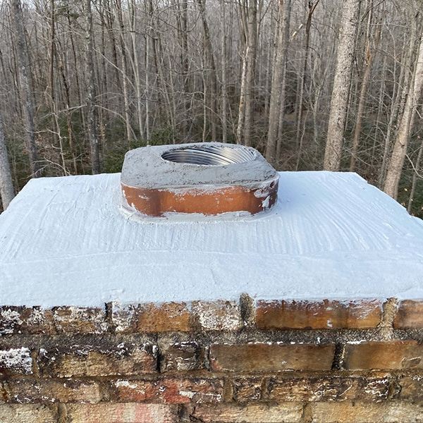 Chimney crown repairs and installation Rockville Maryland